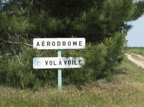 Aérodrome vol à voile